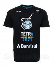 Camiseta Tetra Campe�o Ga�cho 2021