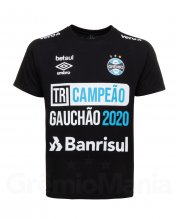 Camiseta Tri Campe�o Ga�cho 2020 Masculina