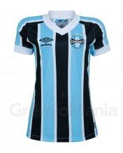 Camisa Gr�mio I Feminina Classic Umbro 2021 S/N�