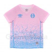 Camisa Grêmio Outubro Rosa Umbro 2021 Infantil