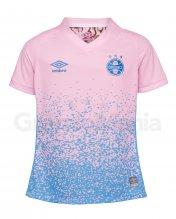 Camisa Grêmio Outubro Rosa Umbro 2021 Juvenil