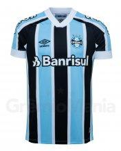 Camisa Grêmio I Masc. Atleta Umbro 2021 S/Nº