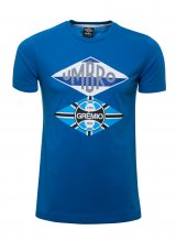 a741dcd7d1c39 Camiseta Masc. Flag Azul