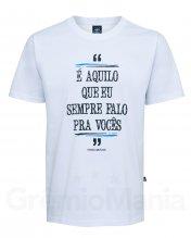 Camiseta Frase Imortal