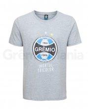 Camiseta Imortal Tricolor Cinza Masculina