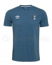 Camisa Concentra��o Azul Umbro 2020 Masculina