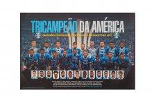 Pôster Tri Campeão Libertadores 2017