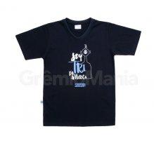 Camiseta Preta Tri da Am�rica Juvenil